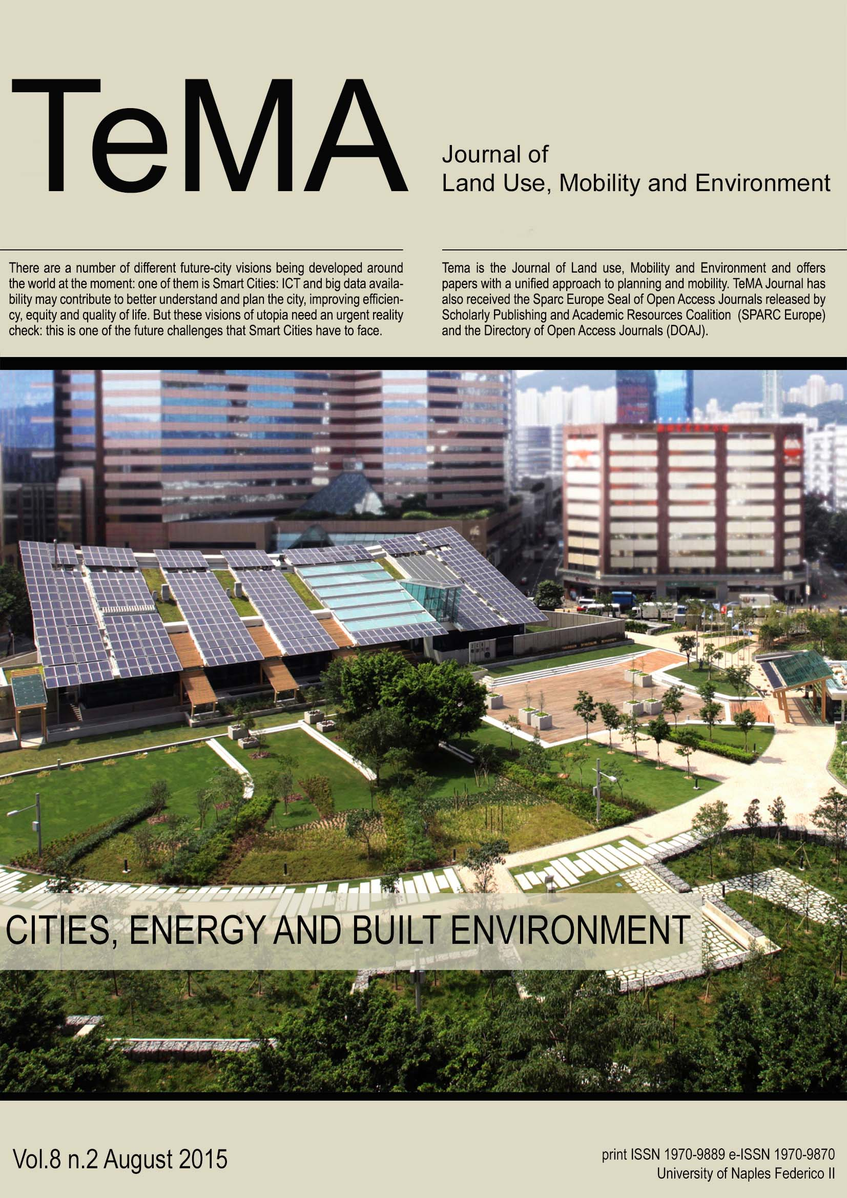 30_Vol 8, N° 2 (2015): Cities, Energy and Built Environment